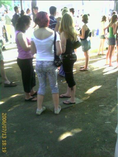Drunk pee her pants