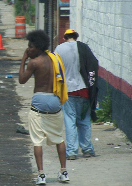Baggy jeans rappers