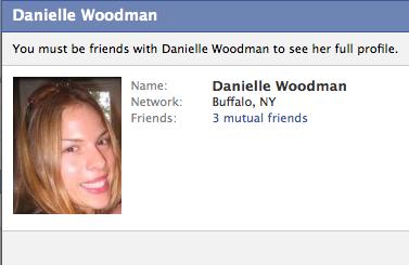 danielle woodman wikipedia