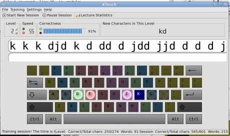 how to become a touch typist